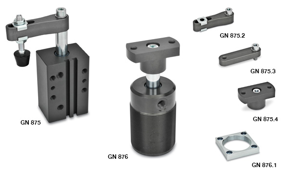Pneumatically Swing Clamps