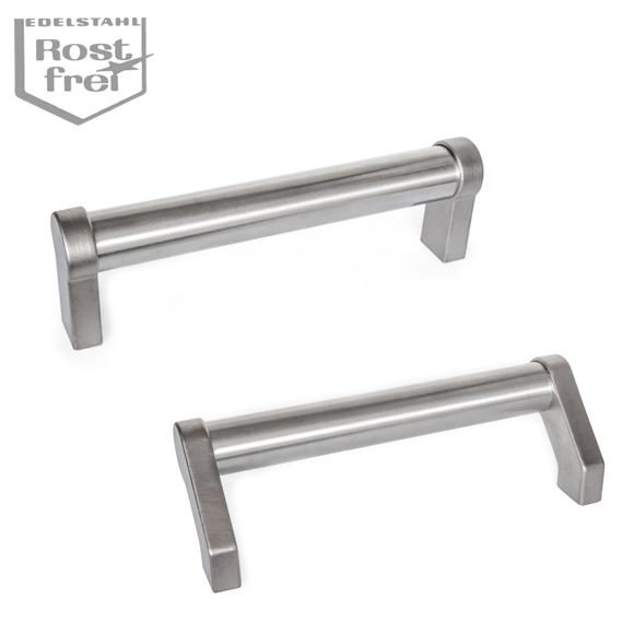 Stainless Steel-Tubular handles GN 333.6 and GN 333.7
