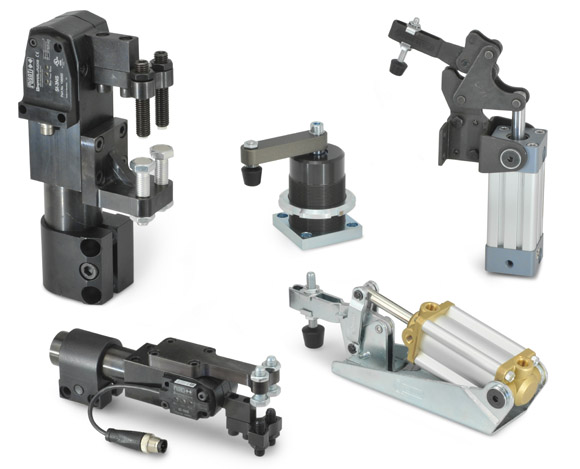 Range Extension of Pneumatically Operated Clamps
