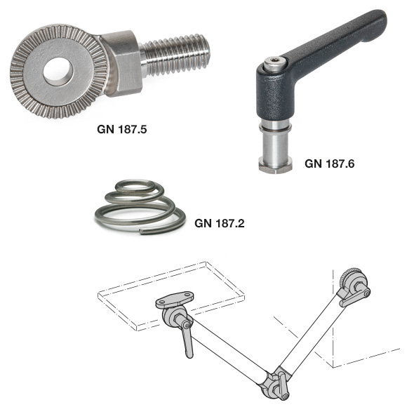 Serrated Locking Plates with Accessory