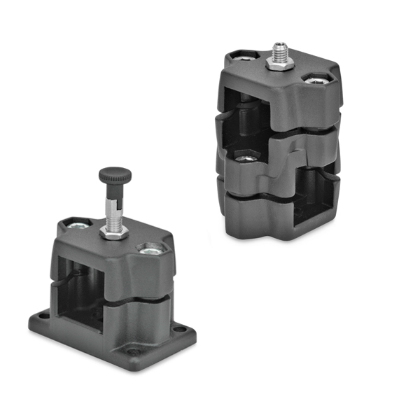 Connector Clamps with Locating Option GN 134.7 / GN 147.7