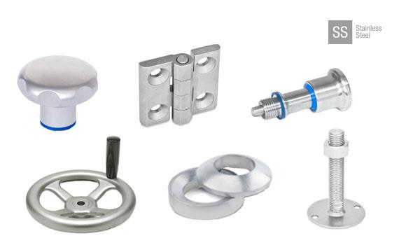 Piezas estándar hechas de acero inoxidable AISI 316